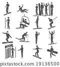 set, icons, ski 19136500