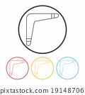 toy boomerang icon 19148706