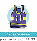 sports wear doodle 19148996