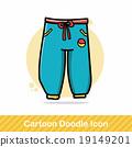 pants doodle 19149201