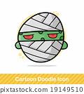 monster doodle 19149510