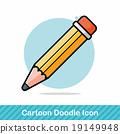 pencil doodle 19149948