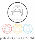 kettle line icon 19150266