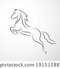 Horse logo 19151388