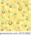 Bee Pattern 19152882