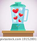blending heart 19152891