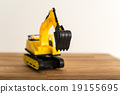 digger, excavator, construction machinery 19155695