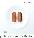 hot dog  food, Sausage 19163163