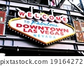 Welcome to Never Sleep city DownTown Las Vegas,USA 19164272