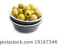 橄欖 碗 綠色 19167346