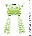Ecology car concept or green concept 19170092