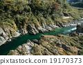 吉野川 河 歐泊可地峽 19170373