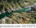 吉野川 河 歐泊可地峽 19170375