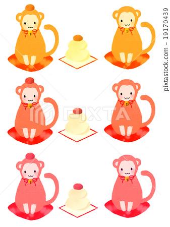 the monkey zodiac, monkey, monkeys 19170439