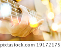 guitar player background 19172175