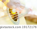 guitar player background 19172176