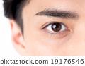 小學生 瞳孔 眼睛 19176546