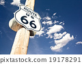 Route 66 sign 19178291