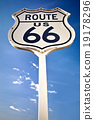 Route 66 sign 19178296