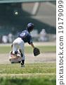 放棄 青少年棒球 背影 19179099