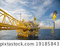Offshore construction platform for production oil  19185843