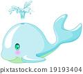 Cute Whale 19193404