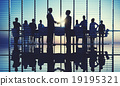 Group People Handshake Global Business Concept 19195321