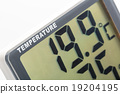Electronic thermometer closeup 19204195