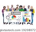 Diversity Group Planning Ideas Information Teamwork Concept 19208072