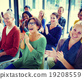 Audience Applaud Clapping Happines Appreciation Training Concept 19208559