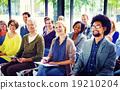 Multiethnic Group Seminar Training Boardroom Concept 19210204