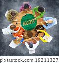 Audit Bookkeeping Finance Money Report Concept 19211327