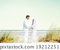 Couple Romance Beach Love Marriage Concept 19212251