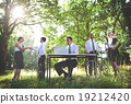 Environmental Friendly Business People Working Concept 19212420