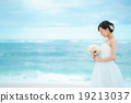 wedding, bride, blue 19213037