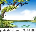 场景 树木 树 19214485