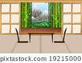 Living room in japanese style 19215000
