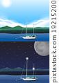 scene, boat, fishing 19215200