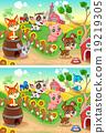 farm animal vector 19219305