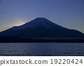 富士山和山中 19220424