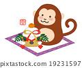the, monkey, zodiac 19231597