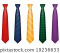 tie, vector, men 19236633