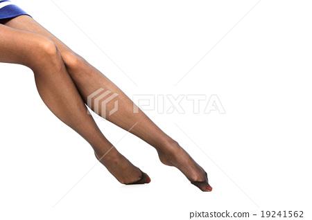 Beautiful legs in nice pantyhose 19241562