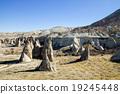 蘑菇岩石在土耳其·卡帕多细亚Pasabaver区 19245448