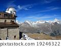 瑞士阿尔卑斯山 蓝天 蓝蓝的天空 19246322