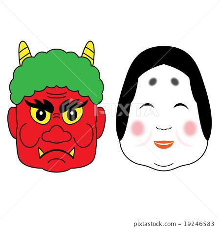 Setsubun: Fuku and demons 19246583