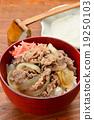 อาหาร,ข้าวหน้าเนื้อ,อาหารญี่ปุ่น 19250103