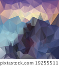 vector polygon background sundown mountain color 19255511