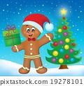Gingerbread man theme image 5 19278101