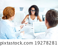 Concept for interview or business meeting 19278281